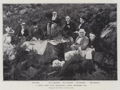 A Picnic Party Near Blackcraig Castle, September 1893