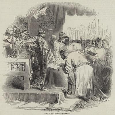 Signing of Magna Charta