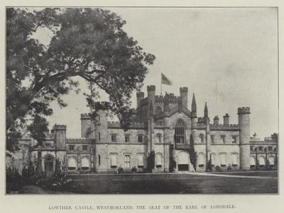 Lowther Castle, Westmorland, the Seat of the Earl of Lonsdale
