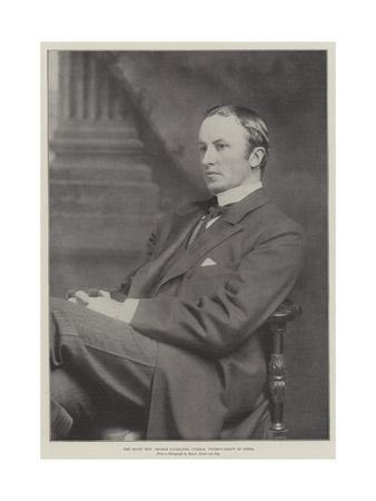 The Right Honourable George Nathaniel Curzon, Viceroy-Elect of India