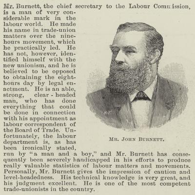 Mr John Burnett