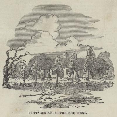 Cottages at Southfleet, Kent