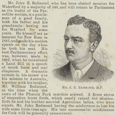 Mr J E Redmond