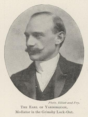 The Earl of Yarborough, Mediator in the Grimsby Lock-Out