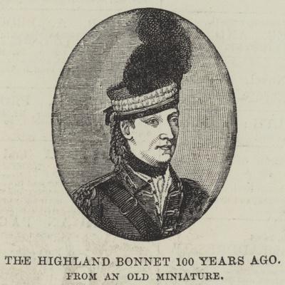 The Highland Bonnet 100 Years Ago