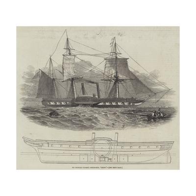 Sir Charles Napier's Steam-Ship, Sidon
