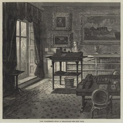 Lord Palmerston's Study at Broadlands