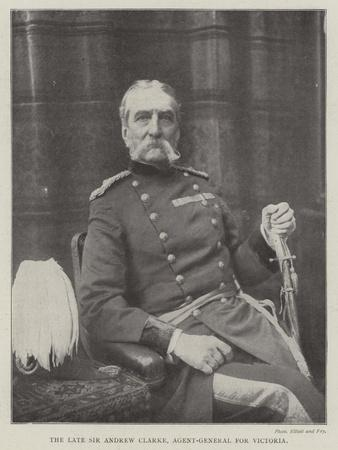 The Late Sir Andrew Clarke, Agent-General for Victoria