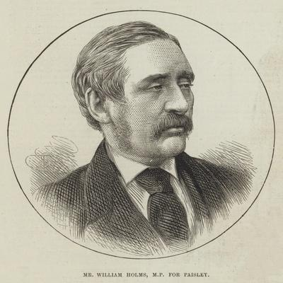 Mr William Holms, Mp for Paisley