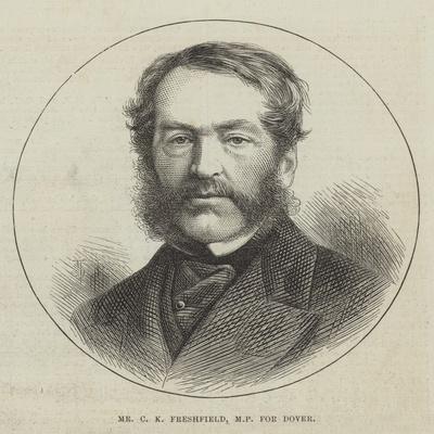 Mr C K Freshfield, Mp for Dover