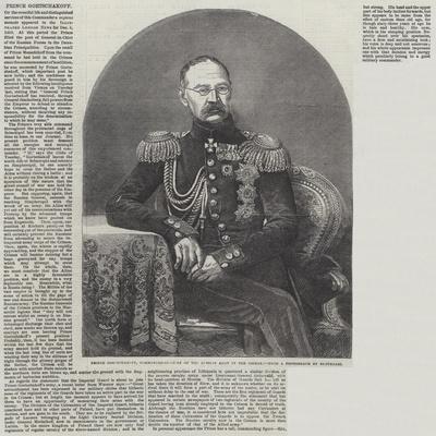 Prince Gortschakoff