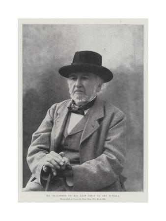 Mr Gladstone on His Last Visit to the Riviera
