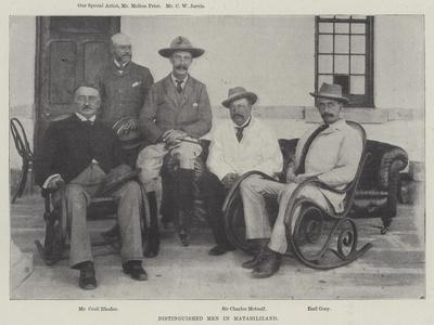 Distinguished Men in Matabililand