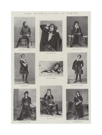 Some Women Players of Hamlet