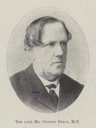 The Late Mr George Dixon