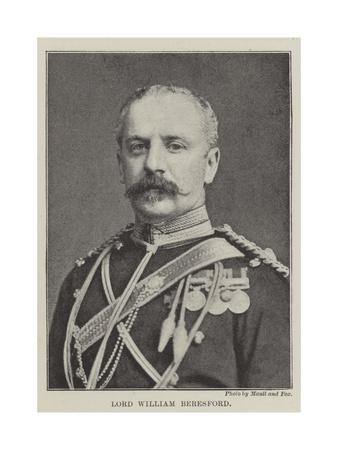 Lord William Beresford