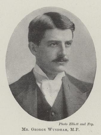 Mr George Wyndham