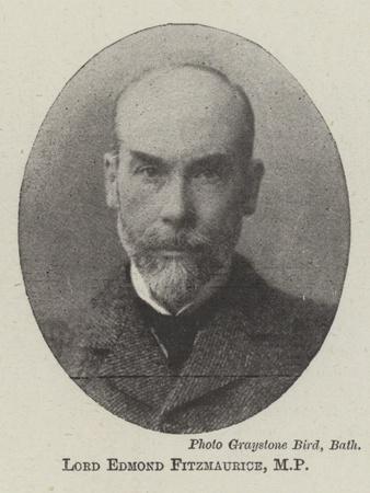 Lord Edmond Fitzmaurice, Mp