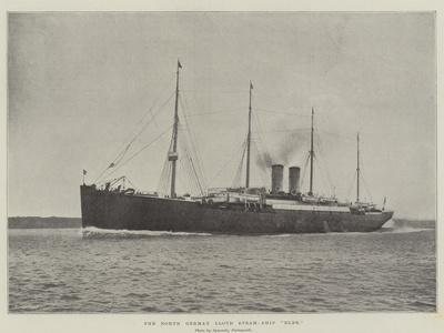 The North German Lloyd Steam-Ship Elbe