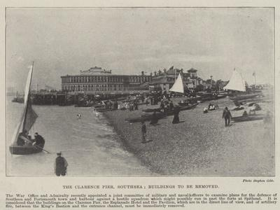 The Clarence Pier, Southsea, Buildings to Be Removed