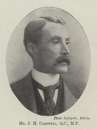Mr J H Campbell