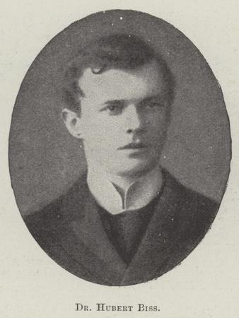 Dr Hubert Biss
