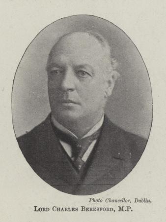 Lord Charles Beresford, Mp