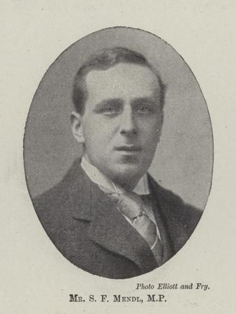 Mr S F Mendl