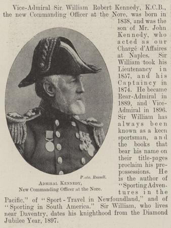 Admiral Kennedy, New Commanding Officer at the Nore