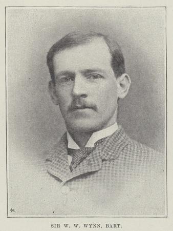 Sir W W Wynn, Baronet