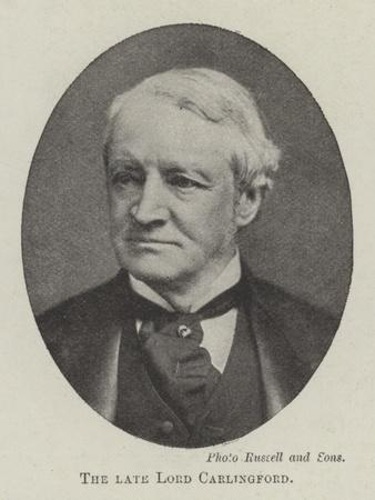 The Late Lord Carlingford