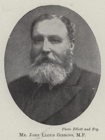 Mr John Lloyd Gibbons