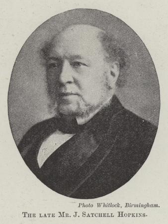 The Late Mr J Satchell Hopkins