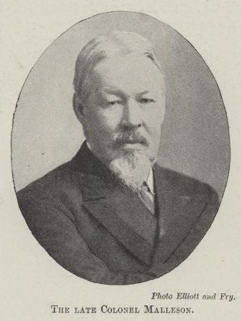 The Late Colonel Malleson