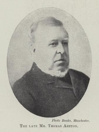 The Late Mr Thomas Ashton