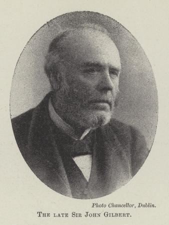 The Late Sir John Gilbert