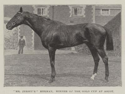 Mr Jersey'S Merman, Winner of the Gold Cup at Ascot