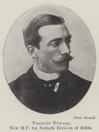 Viscount Newark, New MPfor Newark Division of Notts