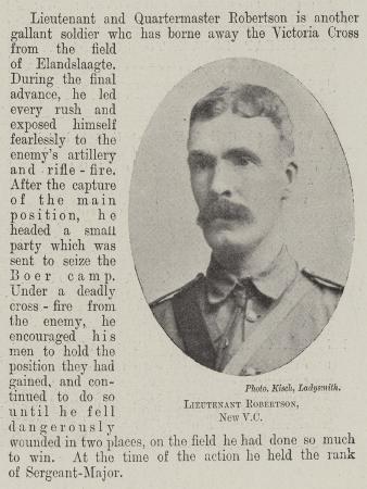 Lieutenant Robertson