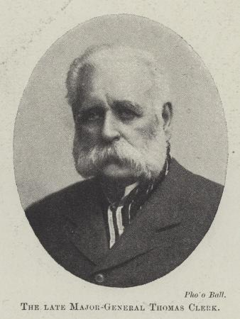 The Late Major-General Thomas Clerk
