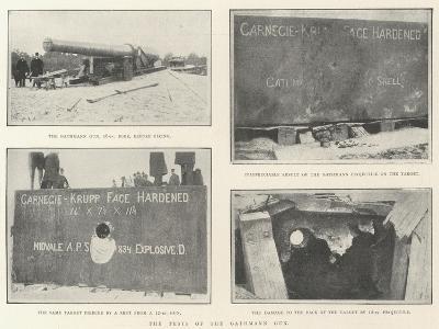The Tests of the Gathmann Gun