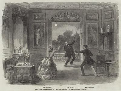 Scene from the New Drama of The Old Chateau, at the Haymarket Theatre