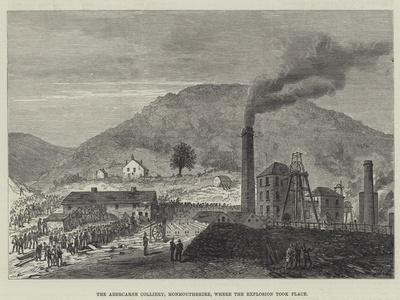 The Abercarne Colliery, Monmouthshire, Where the Explosion Took Place