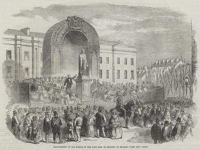 Inauguration of the Statue of the Late Earl of Belfast, at Belfast