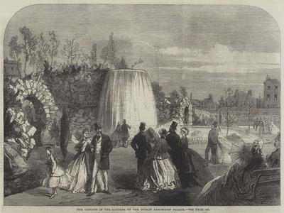 The Cascade in the Gardens of the Dublin Exhibition Palace