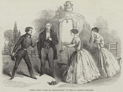 Scene from Rose Et Marguerite, at the St James's Theatre