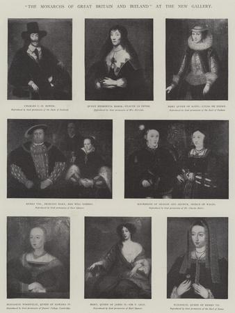 The Monarchs of Great Britain and Ireland at the New Gallery