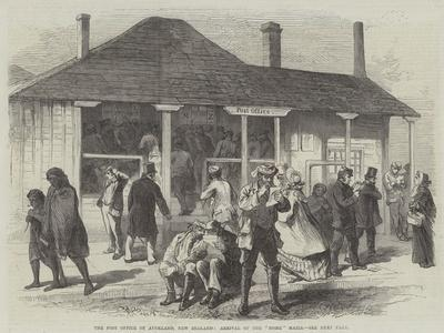 The Post Office of Auckland, New Zealand, Arrival of the Home Mails