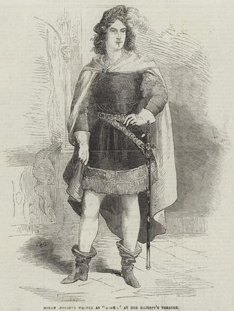 Mademoiselle Johanna Wagner as Romeo, at Her Majesty's Theatre