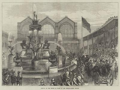 Arrival of the Prince of Wales at the Bethnal-Green Museum